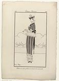 Journal des Dames et des Modes, Costumes Parisiens, 1914, No 138: Robe de satin (…).
