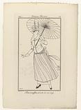 Journal des Dames et des Modes, Costumes Parisiens, 1914, No 174: Robe de taffetas (…).