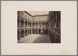 View of the courtyard of the Palazzo della Cancelleria, Rome