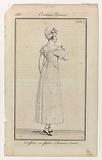 Journal des Dames et des Modes, Costume Parisien, 5 Septembre 1813. Coeffure en fichu (…).