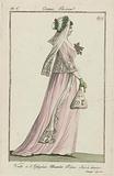 Journal des Dames et des Modes, Costume Parisien, 3 July 1798, An 6. Voile à l'Iphigénie (…).