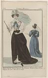 Journal des Dames et des Modes, Costumes Parisiens, 25 June 1826. Chapeau de paill (…).