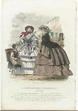 Le Journal des Dames et des Demoiselles, 1858, 1. 7. 532: Edition Belge. Toilettes (…).