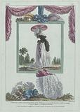 Gallerie des Modes et Costumes Français, 1786, fff 315: La belle Arsèn (…).