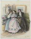 La Mode, c 1835