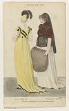 Magazine of Female Fashion of London and Paris, London jan. 1801: Full Dress. Walking Dress.