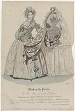 Petit Courrier des Dames, 1836, No 1293: Bonnet and Angleterr (…).