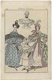 Journal des Dames et des Modes, Frankfurt 1833, Costumes Parisiens