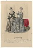 Le Caprice, March 1843: Bonnet et Lingeries (…).