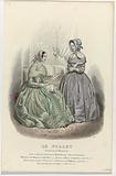 Le Follet, 1845, No 1247: Robes & chapeaux (…).