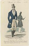 Le Mercure des Salons, Modes de Paris, 1830, No 50: 1st figure Habit this midl (…).