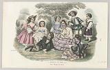 Le Magasin des Familles, c 1857