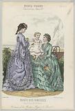 Musée des Familles, July 1870, No 10, 20th année: Costumes de la Maison (…).