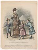 Le Journal des Dames et des Demoiselles, 1875, no. 1256: Etoffes et Nouveautés (…).