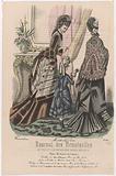 Journal des Demoiselles, Novembre 1875, no. 4021: Toilettes du Petit St Thomas (…).