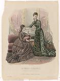 La Mode Illustrée, 1877, no. 51: Toilettes de Madame Fladry (…).