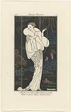 Journal des Dames et des Modes, Costumes Parisiens, 1913, No 112: Manteau de velours (…).