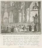 Baptism of Prince Willem George Frederik, 1774