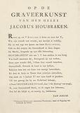 On the engraving art of Mr Jacobus Houbraken