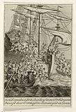 British raid a Dutch ship, ca 1780–1783