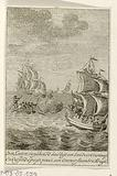 Battles between Dutch and British at sea, c 1780–1783
