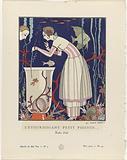 Gazette du Bon Ton, 1914 – No 5. 44: L'étourdissant petit poisson (…) / Robe d'été.