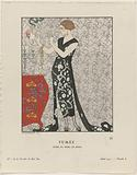 Gazette du Bon Ton, 1921 – No 1. 8: Fumée / Robe du soir, de Beer.