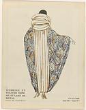 Evening Cloaks from the Gazette du Bon Ton