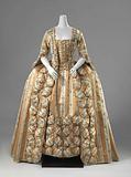 Sack-Back Gown with Skirt (robe à la française)