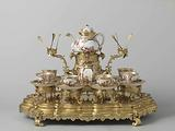 Tea service and stand