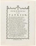 Confession of a Patriot, 1787