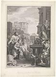 Lucius Papirius vergeeft Fabius Maximus