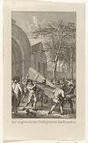 Removal of the doors of the city gate at Franeker, 1788