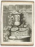 Title print by Livres de Plusieurs Vaze de Fleurs faicts d'Apres le Naturel
