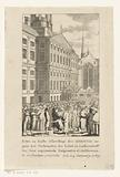 Burning of pamphlets in Amsterdam, 1789