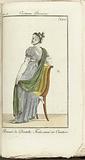 Journal des Dames et des Modes, Costume Parisien, 1805, An 13 Bonnet de Dentelle…