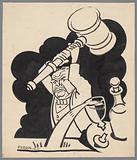 Man with gavel