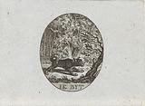 Barking Keeshond, c 1787