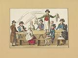 Selling the wigs, 1795