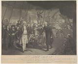 Surrender of De Winter after the lost naval battle at Kamperduin, 1797