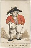 Cartoon on the Batavian Rear Admiral Samuel Story, 1799