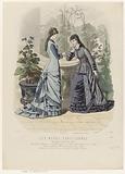 Les Modes Parisiennes, 1878, no. 1746: Spécialité de Costumes (…).