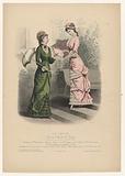 La Saison, Journal illustré des Dames, 1879, no. 560: Toilettes de Melles Vidal, (…).