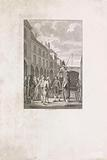 Arrival of RJ Schimmelpenninck in The Hague on April 27, 1805 as a pensionary