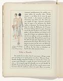 Art – Goût – Beauté, Feuillets de l 'élégance féminine, Novembre 1928, No 99, 9th Année, p. 12.