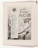 Art – Goût – Beauté, Feuillets de l 'élégance féminine, Juin 1929, No 106, 9th Année, p. 3.
