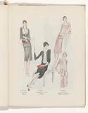 Art – Goût – Beauté, Feuillets de l 'élégance féminine, Juin 1929, No 106, 9th Année, p. 18.