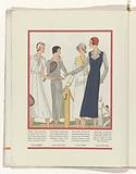 Art – Goût – Beauté, Feuillets de l 'élégance féminine, Mai 1931, No 129, 11th Année, p. 24.