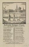New Year's wish from the Amsterdam night watch for the year 1845