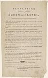 Game Rules for the Clock and Hammer Game or Mold Game, 1824